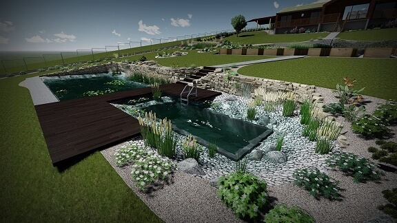 návrh jazera 2