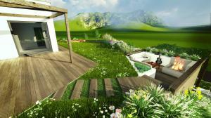 navrh zahrady 2